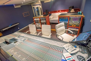 Solid State Logic Digital Console at Sound Logic Recording Studio.